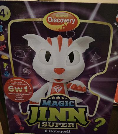 Zabawka Magic Jinn Superb 6w1 na warsztatach z programowania